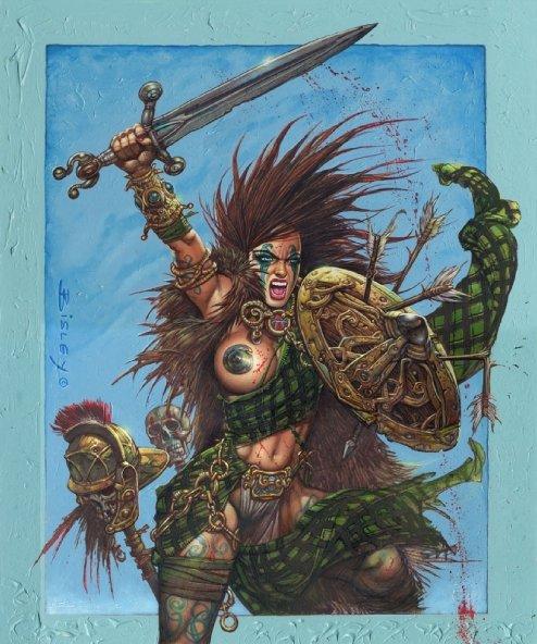 Boudica The Art of Simon Bisley