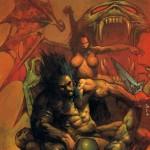 Slaine : The Horned God (Cover, minus masthead)