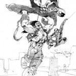 lobo vs spidey and DD