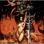 simon_bisley_calendar_2004_guarding_the_gates