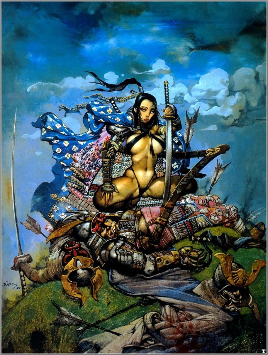 Artiste & œuvre d'art du jour Coldsamurai