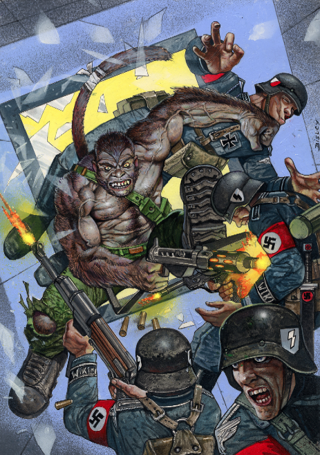 Madefire's Mono cover by Bisley